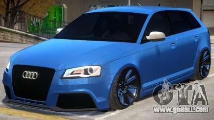Audi RS3 for GTA 4