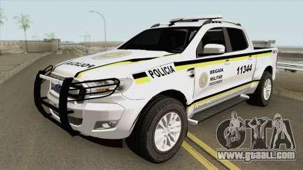 Ford Ranger (Brigada Militar) for GTA San Andreas