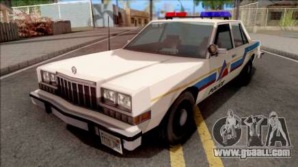 Dodge Diplomat 1989 Hometown Police for GTA San Andreas