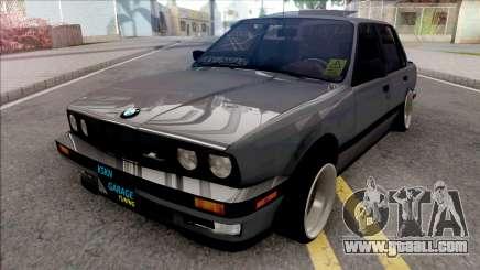 BMW 3-er E30 KSKN GARAGE for GTA San Andreas