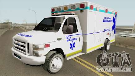 Ford E350 (San Andreas Ambulance) for GTA San Andreas