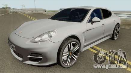 Porsche Panamera Turbo HQ for GTA San Andreas