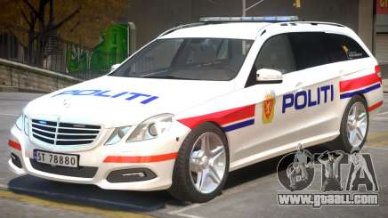 Mercedes Benz E63 Police for GTA 4