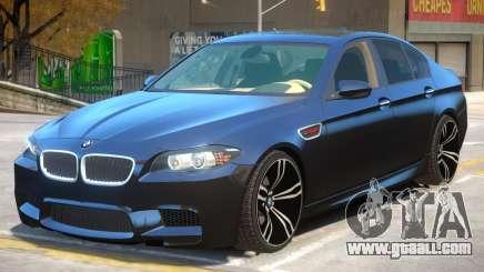 BMW M5 F10 V1.2 for GTA 4