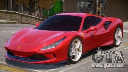 2019 Ferrari F8 Tributo v1.2 for GTA 4