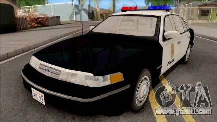 Ford Crown Victoria 1997 Hometown Police for GTA San Andreas