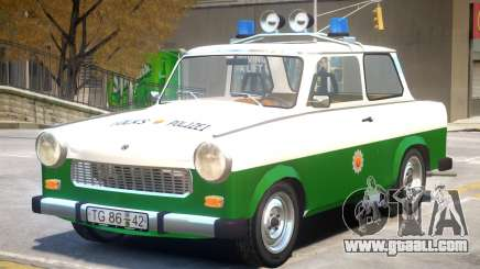 1981 Trabant Police for GTA 4