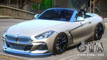 BMW Z4 2019 for GTA 4
