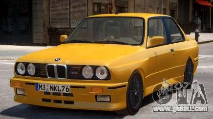 BMW M3 E30 v2.1 for GTA 4