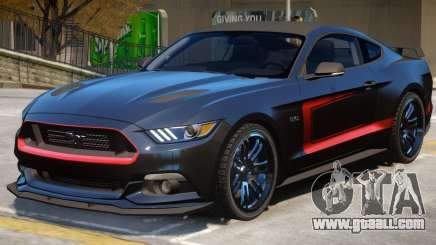 Ford Mustang GT V2 PJ6 for GTA 4