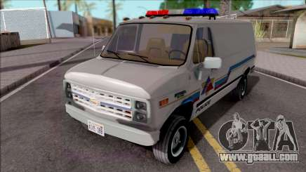 Chevrolet G20 1988 Hometown Police for GTA San Andreas