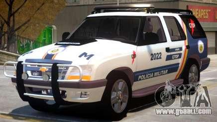 Chevrolet Blazer Police for GTA 4
