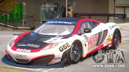 McLaren MP4 PJ3 for GTA 4
