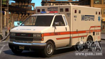 Ambulance Westdyke EMS for GTA 4