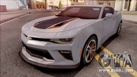 Chevrolet Camaro SS 2017 Grey for GTA San Andreas