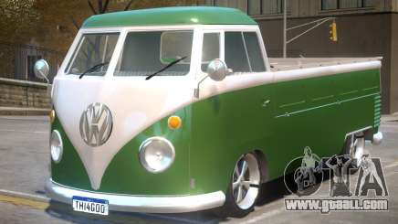 VW Kombi Pick-Up T2 Bus for GTA 4