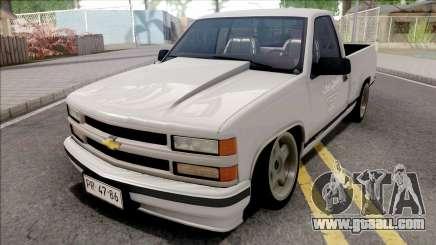 Chevrolet Silverado 1500 White for GTA San Andreas