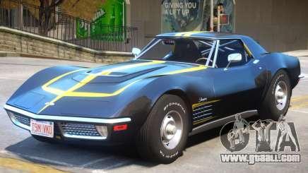Chevrolet Corvette C3 ZR1 for GTA 4