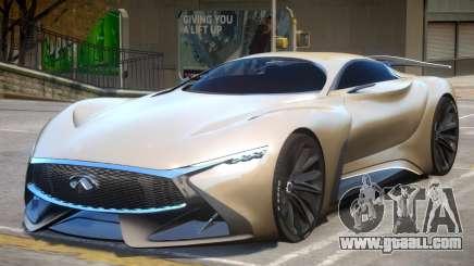 2014 Infiniti Concept V1.1 for GTA 4