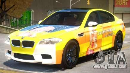 BMW M5 F10 PJ4 for GTA 4