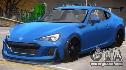 Subaru BRZ STi for GTA 4