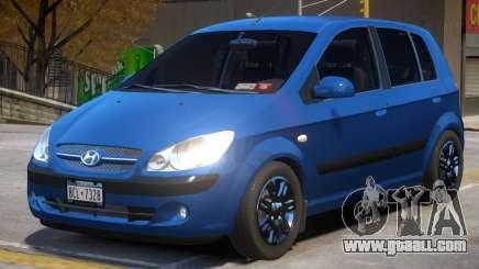 Hyundai Getz V1.1 for GTA 4