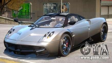 Pagani Huayra V2 for GTA 4