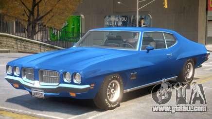 1971 Pontiac LeMans for GTA 4