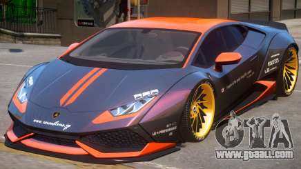 Lamborghini Huracan PJ1 for GTA 4
