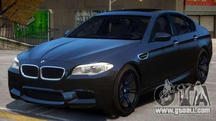 BMW M5 F10 V2 for GTA 4