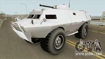 HVY APC GTA V (SA Style) for GTA San Andreas