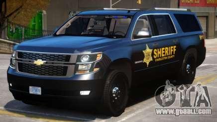 Chevrolet Suburban Police for GTA 4