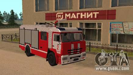 KamAZ 43118 ATS for GTA San Andreas