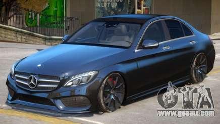 Mercedes Benz C250 V2 for GTA 4
