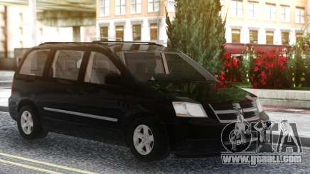 Dodge Grand Caravan 2010 Black for GTA San Andreas