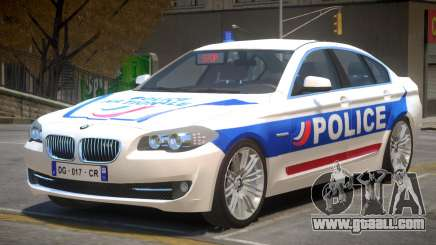 BMW Police V2 for GTA 4