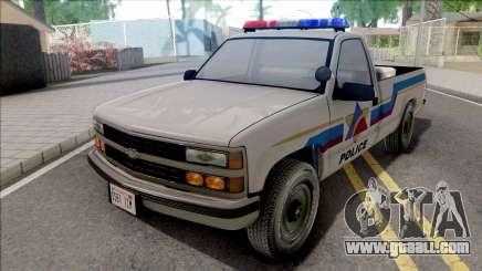 Chevrolet Silverado 1991 Hometown Police for GTA San Andreas