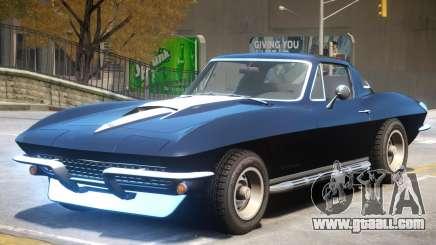 Chevrolet Corvette C2 for GTA 4