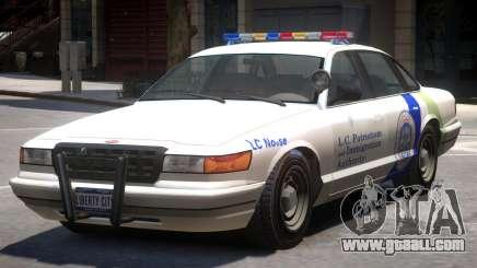 Police Vapid Stanier V2 for GTA 4