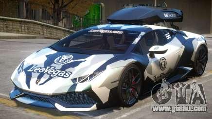 2015 Jon Olsson Lamborghini Huracan 610-4 for GTA 4