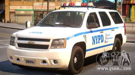 NYPD Chevrolet Tahoe for GTA 4