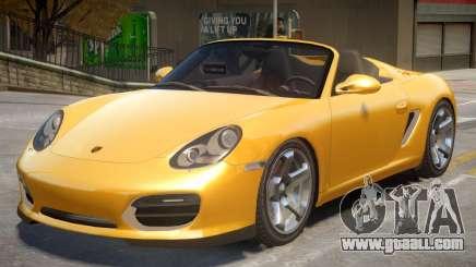 Porsche Boxster Spyder NW for GTA 4