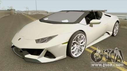 Lamborghini Huracan Evo Spyder 2020 for GTA San Andreas
