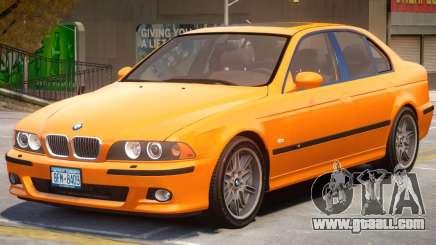 BMW M5 E39 V1.2 for GTA 4