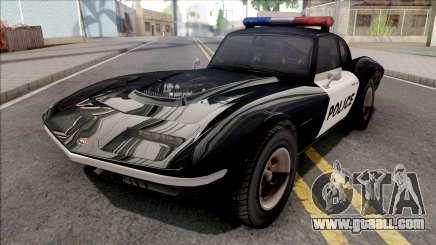 Invetero Coquette Classic Police for GTA San Andreas