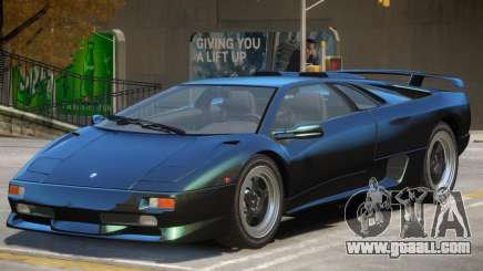 Lamborghini Diablo for GTA 4