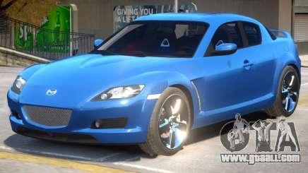 Mazda RX-8 Improved for GTA 4