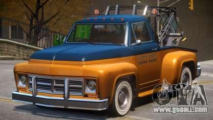 Vapid Tow Truck Restored V2 for GTA 4