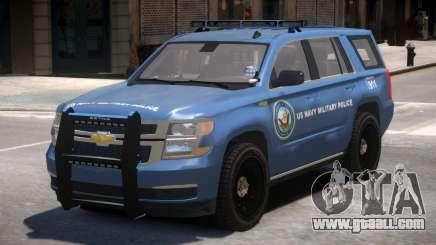 Chevrolet Tahoe Military Police for GTA 4