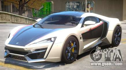 Lykan Hypersport V2 PJ2 for GTA 4